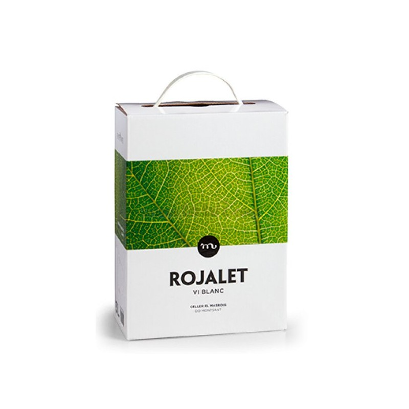 Bebidas - Vino - ROJALET - Blanco Bag in Box 3000ml DO Catalunya - Und